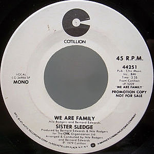 レコード画像:SISTER SLEDGE / We Are Family