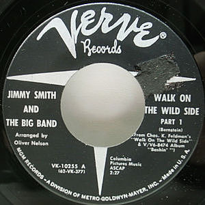レコード画像:JIMMY SMITH / Walk On The Wild Side