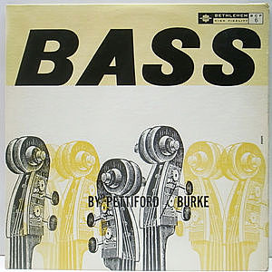 レコード画像:OSCAR PETTIFORD / VINNIE BURKE / Bass By Pettiford/Burke