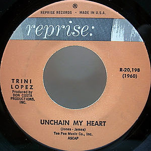 レコード画像:TRINI LOPEZ / If I Had A Hammer / Unchain My Heart