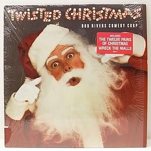 レコード画像:BOB RIVERS COMEDY CORP / Twisted Christmas