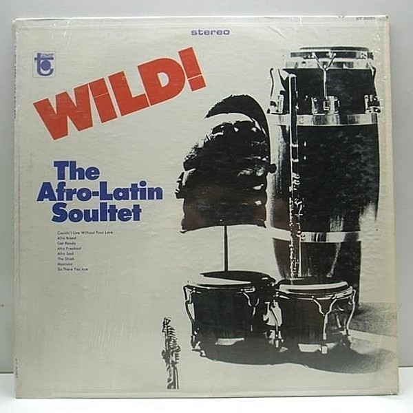 レコードメイン画像:MONO オリジナル AFRO LATIN SOULTET [PHIL MOORE III] Wild! ('66 Tower) LP モノラル DEEP LATIN JAZZ - BOOGALOO - SOUL LATIN