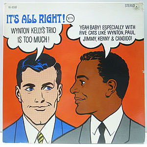 レコード画像:WYNTON KELLY / It's All Right
