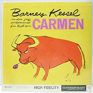 レコード画像:BARNEY KESSEL / Plays Carmen