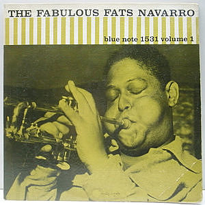 レコード画像:FATS NAVARRO / The Fabulous Fats Navarro Volume 1