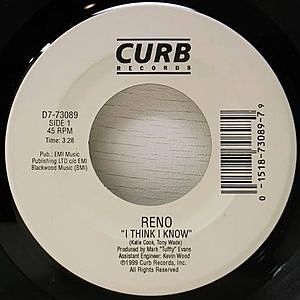 レコード画像:RENO / I Think I Know