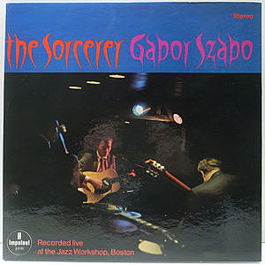 レコード画像:GABOR SZABO / The Sorcerer