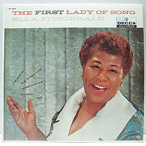 レコード画像:ELLA FITZGERALD / The First Lady Of Song