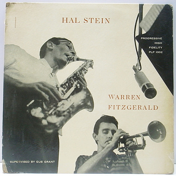 レコードメイン画像:レア・オリジナル MONO 手書きRVG 深溝 HAL STEIN / WARREN FITZGERALD ('55 Progressive) BOB DOROUGH, PAUL MOTIAN
