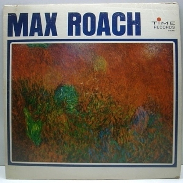 レコードメイン画像:良品!! MONO TIME Orig. MAX ROACH / Booker Little RAY DRAPER