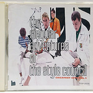 レコード画像:THE STYLE COUNCIL / The Singular Adventures Of The Style Council