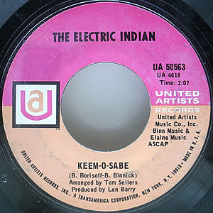 レコード画像:ELECTRIC INDIAN / Keem-O-Sabe