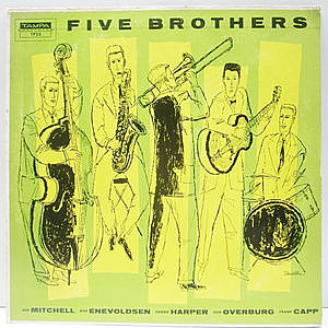 レコード画像:FIVE BROTHERS / HERBIE HARPER / Same