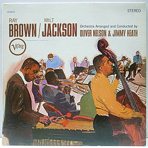 レコード画像:RAY BROWN / MILT JACKSON / Same