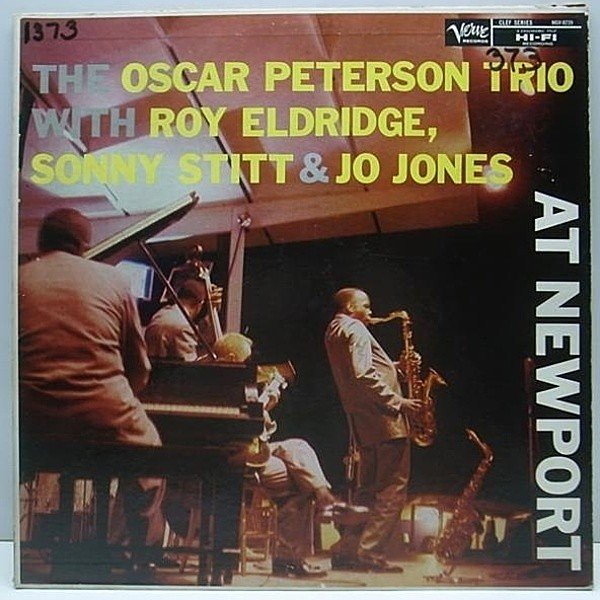 レコードメイン画像:TP オリジ MONO両溝 OSCAR PETERSON At Newport / SONNY STITT