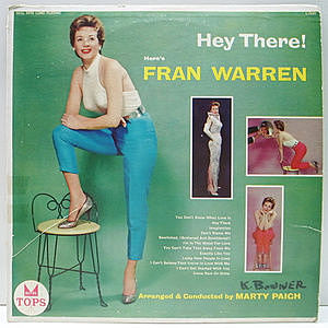 レコード画像:FRAN WARREN / Hey There!