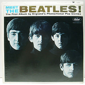 レコード画像:BEATLES / Meet The Beatles!
