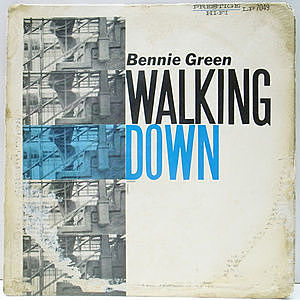 レコード画像:BENNIE GREEN / Walking Down