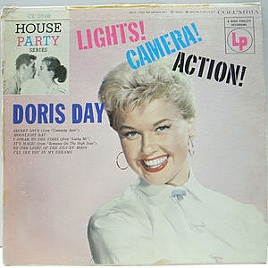 レコード画像:DORIS DAY / Lights! Camera! Action!