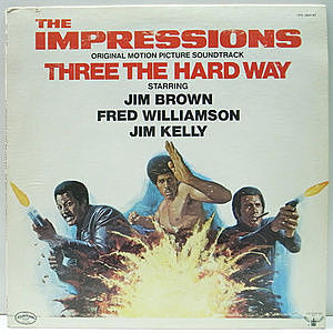 レコード画像:IMPRESSIONS / Three The Hard Way