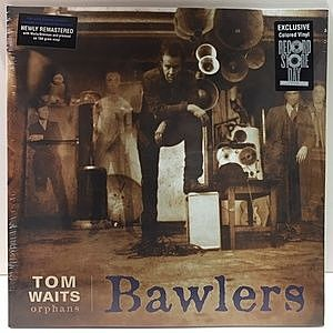 レコード画像:TOM WAITS / Bawlers [2LP Blue Vinyl for RSD]