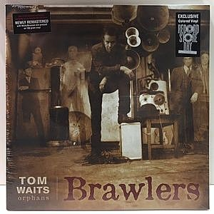 レコード画像:TOM WAITS / Brawlers [2LP Red Vinyl for RSD]