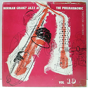 レコード画像:NORMAN GRANZ / JAZZ AT THE PHILHARMONIC / Norman Granz' Jazz At The Philharmonic Vol.10