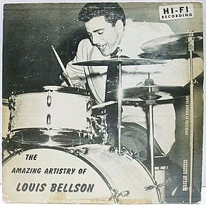レコード画像:LOUIS BELLSON / The Amazing Artistry Of Louis Bellson