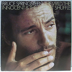 レコード画像:BRUCE SPRINGSTEEN / The Wild, The Innocent & The E Street Shuffle