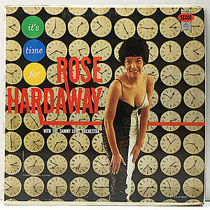 レコード画像:ROSE HARDAWAY / It's Time For Rose Hardaway