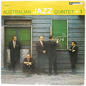 レコード画像:AUSTRALIAN JAZZ QUINTET / OSIE JOHNSON / The Australian Jazz Quintet +1