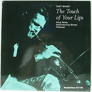 レコード画像:CHET BAKER / The Touch Of Your Lips