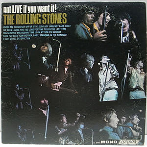 レコード画像:ROLLING STONES / Got Live If You Want It!
