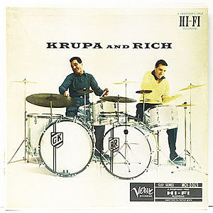 レコード画像:GENE KRUPA / BUDDY RICH / Krupa And Rich