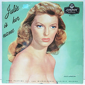レコード画像:JULIE LONDON / Julie Is Her Name