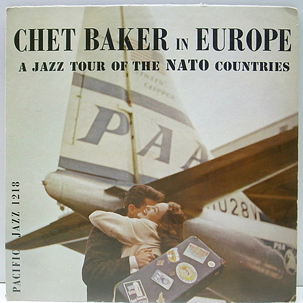 レコードメイン画像:美再生!良盤! MONO 深溝 CHET BAKER In Europe : A Jazz Tour Of The Nato Countries (Pacific Jazz / PJ-1218) RICHARD TWARDZIK