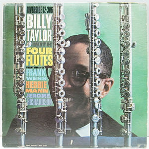 レコード画像:BILLY TAYLOR / Billy Taylor With Four Flutes
