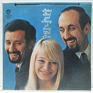 レコード画像:PETER, PAUL & MARY / A Song Will Rise