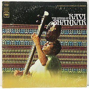 レコード画像:RAVI SHANKAR / The Genius Of Ravi Shankar