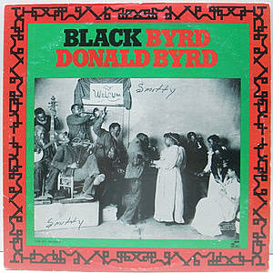 レコード画像:DONALD BYRD / Black Byrd
