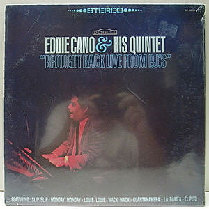 レコード画像:EDDIE CANO / Brought Back Live From PJ's