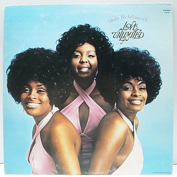 レコードメイン画像:美盤!! USオリジナル LOVE UNLIMITED Under The Influence Of Love Unlimited ('73 20th Century) Oh Love/インスト ほか BARRY WHITE