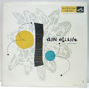 レコード画像:DON ELLIOTT / The Don Elliott Quintet