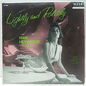 レコード画像:EDDIE HEYWOOD / Lightly And Politely