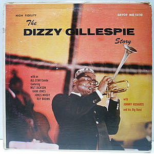 レコード画像:DIZZY GILLESPIE / The Dizzy Gillespie Story
