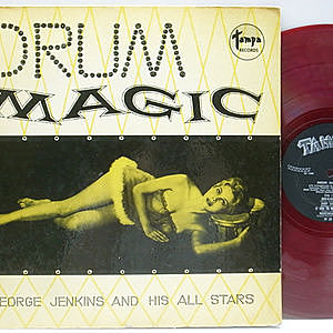 レコード画像:GEORGE JENKINS / Drum Magic