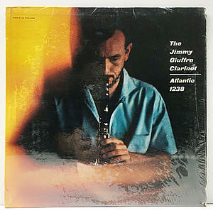 レコード画像:JIMMY GIUFFRE / The Jimmy Giuffre Clarinet