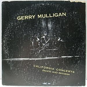 レコード画像:GERRY MULLIGAN / California Concerts