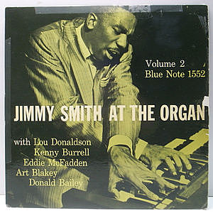レコード画像:JIMMY SMITH / At The Organ, Volume 2