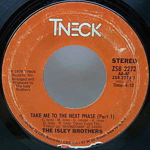 レコード画像:ISLEY BROTHERS / Take Me To The Next Phase